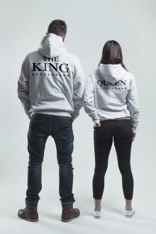 Set mikin s kapucí The King His Queen