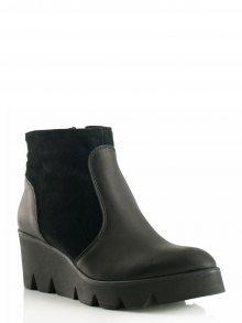 Bosccolo Kotníkové boty 3868_black/suede