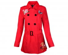 Desigual Dámský kabát Abrig Murielle 18SWEW84 3000 38