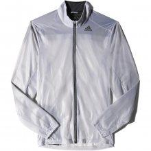 adidas Adizero Ghost Jacket bílá S