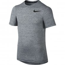 Nike Df Training Ss Top Yth šedá 146