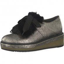 Tamaris Elegantní dámská obuv 1-1-24717-39-964 Pewter Struct. 36