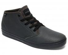 Quiksilver Pánské tenisky Shorebreakpmmid Grey/Grey/Black AQYS300064-XSSK 42
