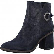 Tamaris Elegantní dámské kotníkové boty 1-1-25932-39-805 Navy 39