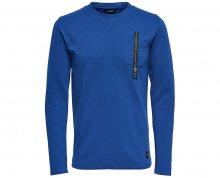 ONLY&SONS Pánský svetr Saul Pocket Ls Sodalite Blue S