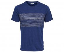 ONLY&SONS Pánské tričko Sanford Ss Tee Dark Blue Denim S