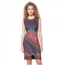 Desigual Dámské šaty Vest Trueno 17WWVKA4 3169 XS