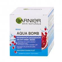 Garnier Noční regenerační antioxidační gelový krém Skin Naturals (Aqua Bomb) 50 ml