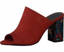 Tamaris Dámské pantofle 1-1-27288-20-536 Sangria 37