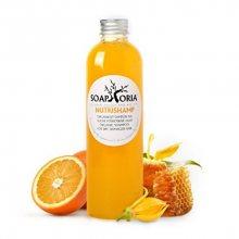 Soaphoria Hair Care tekutý organický šampon na suché poškozené vlasy (NutriShamp) 250 ml