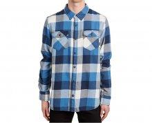 VANS Pánská košile Box Flannel Delft/Marshmallow V00JOGO6A L