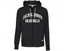Jack&Jones Pánská mikina Jornewcarry Sweat Zip Hood Tap Shoe S