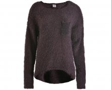 Deha Dámský svetr Crewneck Sweater B64160 Black Plum S