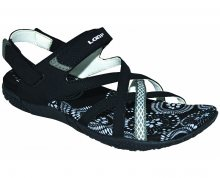 LOAP Dámské sandále Caipa Black/Bl.De Blanc SSL18130-V11A 36
