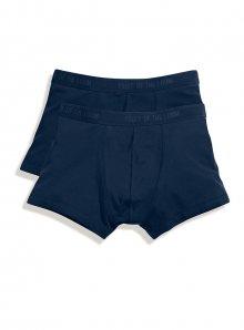 Pánské boxerky 2ks - Temně modrá S