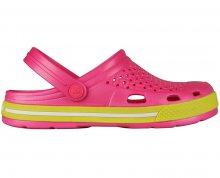 Coqui Dámské sandále Lindo 6413 Lt. fuchsia/Citrus 102353 36