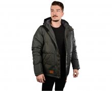 Meatfly Pánská bunda Chubby 2 Mns Jacket B - Light Gray Heather S