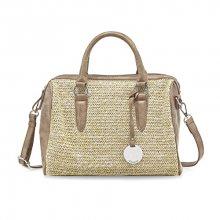 Tamaris Elegantní kabelka Neve Bowling Bag 2036171-394 Brown comb.