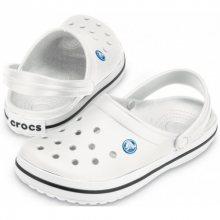 Crocs Pantofle Crocband White 11016-100 37-38