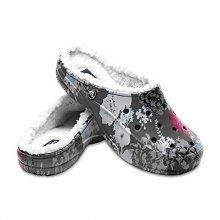 Crocs Pantofle Crocs Freesail Graphic Lined Floral/Slate Grey 203762-96B 36-37