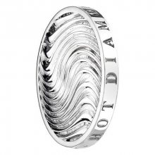 Hot Diamonds Přívěsek Emozioni Silver Wave Coin EC015-EC053 33 mm
