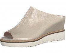 Tamaris Dámské pantofle 1-1-27200-20-978 Lt. Gold Plain 37