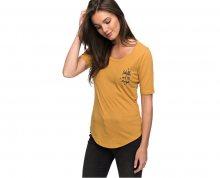 Roxy Dámské triko Boogie Board Lace Spruce Yellow ERJZT04067-YLK0 S