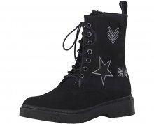 Tamaris Elegantní dámské kotníkové boty 1-1-25731-39-001 Black 37