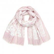 Art of Polo Dámský bavlněný šátek - Květy růžová sz16221.2
