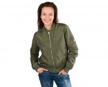 Cars Jeans Dámská zelená bunda Basha Olive 4207318 S