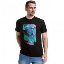 Meatfly Pánské triko Dominion T-shirt A-Black M