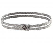 Prana Čelenka Printed Double Headband Silver Jacquard