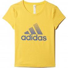 adidas Sportswear Future Athlete Tee žlutá 128