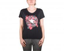 Converse Dámské triko Floral CP Femme Tee Black S