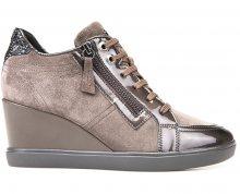 GEOX Dámské kotníkové boty Eleni Chestnut D7467C-022HI-C6004 36