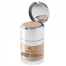 Dermacol Dlouhotrvající make-up s výtažky z kaviáru a zdokonalovací korektor (Caviar Long Stay Make-Up & Corrector) 30 ml 1 Pale