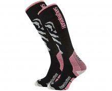 Horsefeathers Dámské ponožky Piper Thermolite Zebra AA1026A 5-7