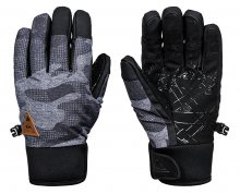 Quiksilver Rukavice Method Glove Black Camokazi EQYHN03082-KVJ9 M