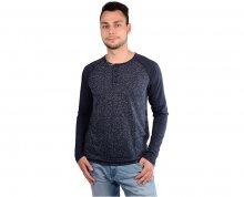 Cars Jeans Pánské modré tričko Baseo Navy 4627249 L