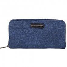 Bulaggi Elegantní peněženka Pellon Wallet Zip Around Dark Blue 10421-43