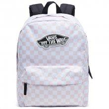 VANS Dámský batoh Realm Backpack Chalk Pink Checkerboard V00NZOP2A