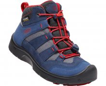 KEEN Junior boty Hikeport Mid Wp dress blues/firey red 34