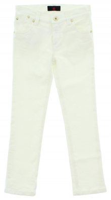 Jeans dětské John Richmond | Bílá | Dívčí | 2 roky
