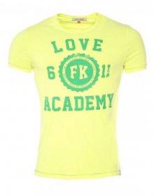 French Kick Pánské tričko FKM1 - 3127_YELLOW