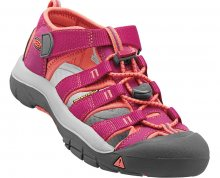 KEEN Dětské sandály Newport H2 Very Berry/Fusion Coral JUNIOR 36