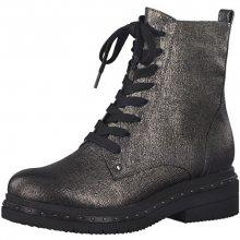 Tamaris Elegantní dámské kotníkové boty 1-1-25131-39-949 Platinum Stru. 37