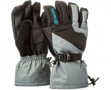 Meatfly Pánské prstové rukavice Agent Gloves A - Grey/Black/Blue M