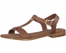 Tamaris Dámské sandále 1-1-28149-20-335 Cognac Uni 39