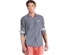 Edward Jeans Pánská košile Denim Shirts Blue 16.1.1.03.020 XL
