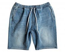 Quiksilver Pánské kraťasy Fonic Denim Fleece Short Blur EQYDS03066-BPTW M